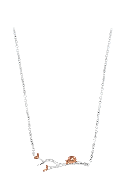 Dewy Ladybird Necklace