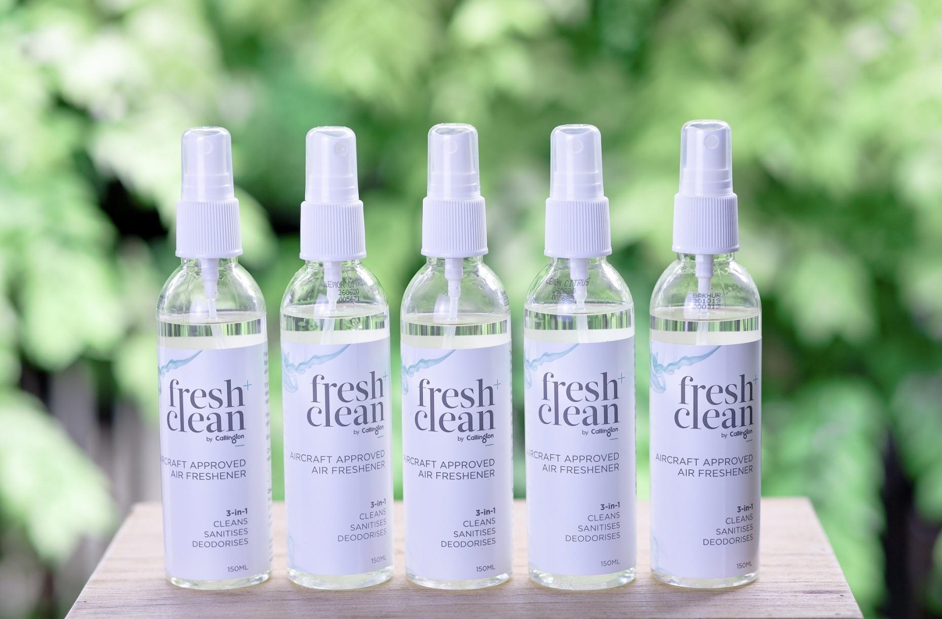 """""""TM"""" แนะนำสินค้าต้านโควิด Fresh & Clean 3 in 1  สเปรย์ปรับอากาศที่สามารถฆ่าเชื้อโรคและขจัดกลิ่น"""