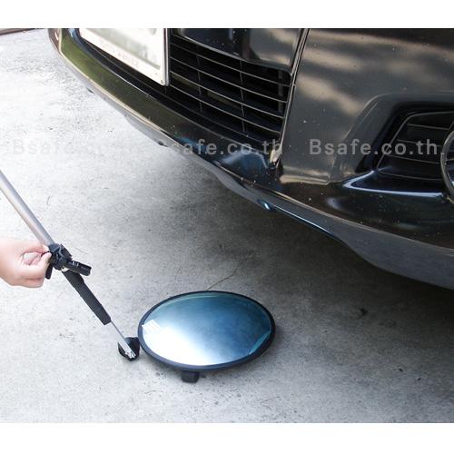 Vehicle inspection mirror