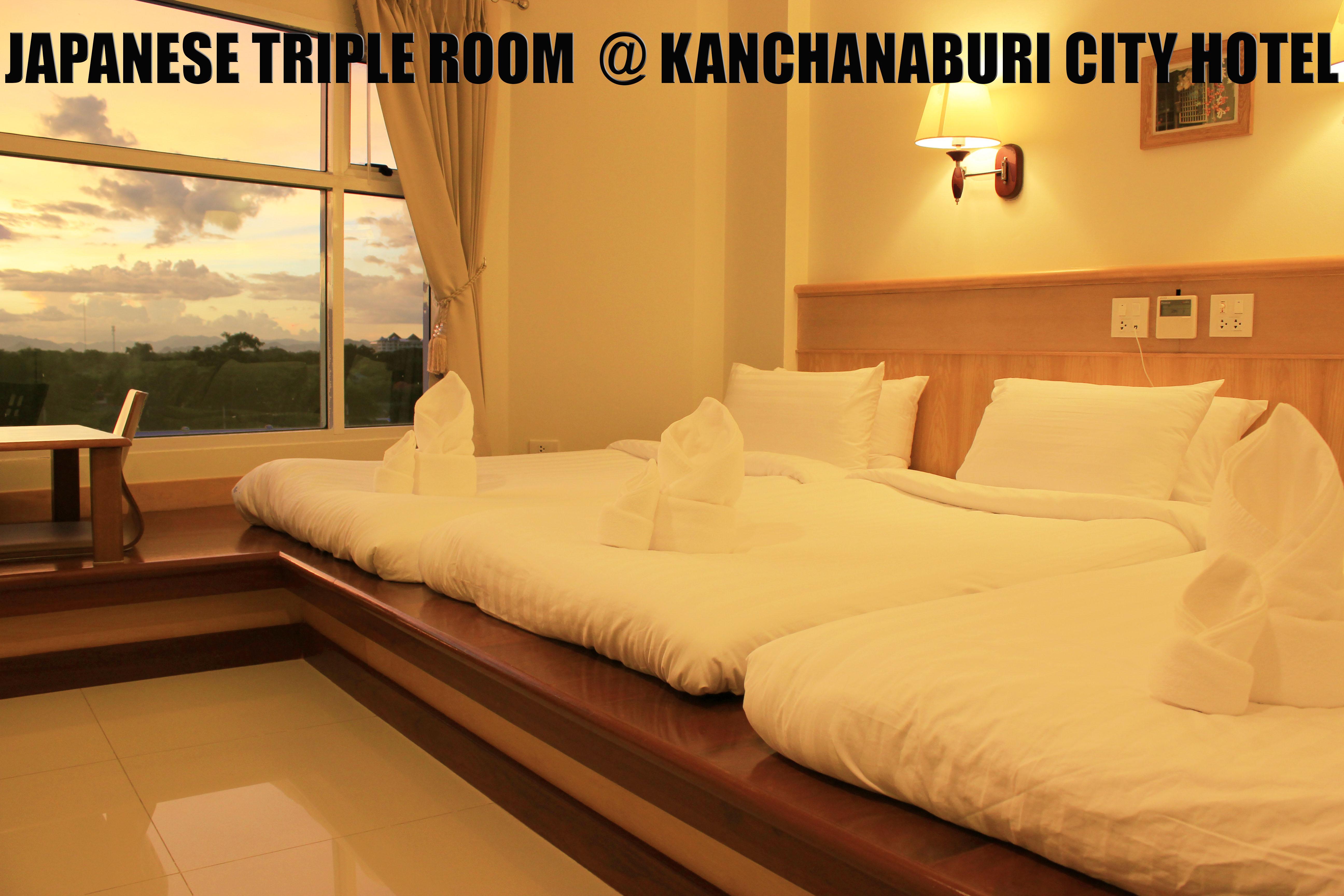 Japanese triple room