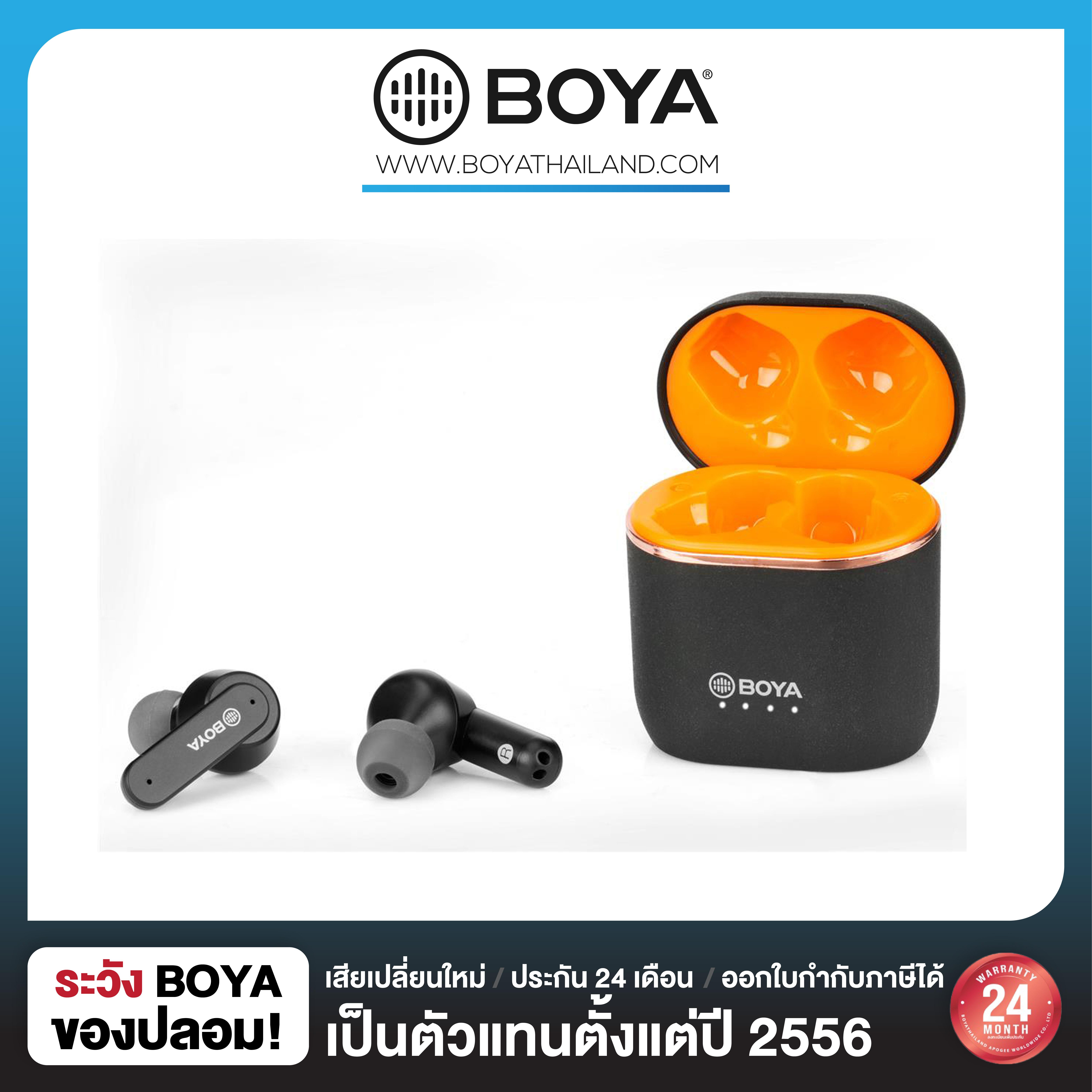 Boya BY-AP4-B Advanced TWS Earbuds-Black