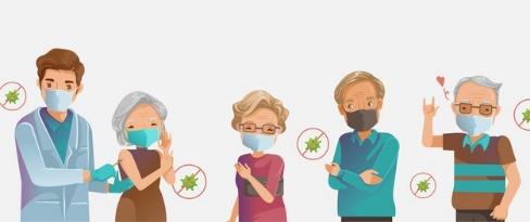 วัคซีนที่จำเป็นสำหรับผู้สูงอายุ ป้องกันการติดเชื้อโควิด
