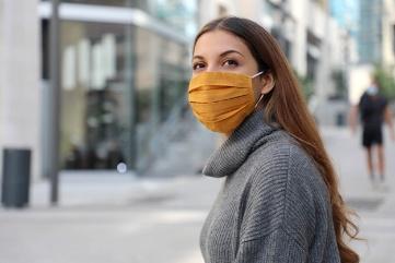 วิธีป้องกันตัวเองจากโควิด-19 ด้วยหน้ากากอนามัย