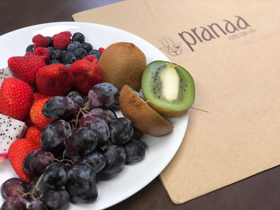 Pranaa food for life บริการจัดส่ง อาหารเจ และ มังสวิรัติ