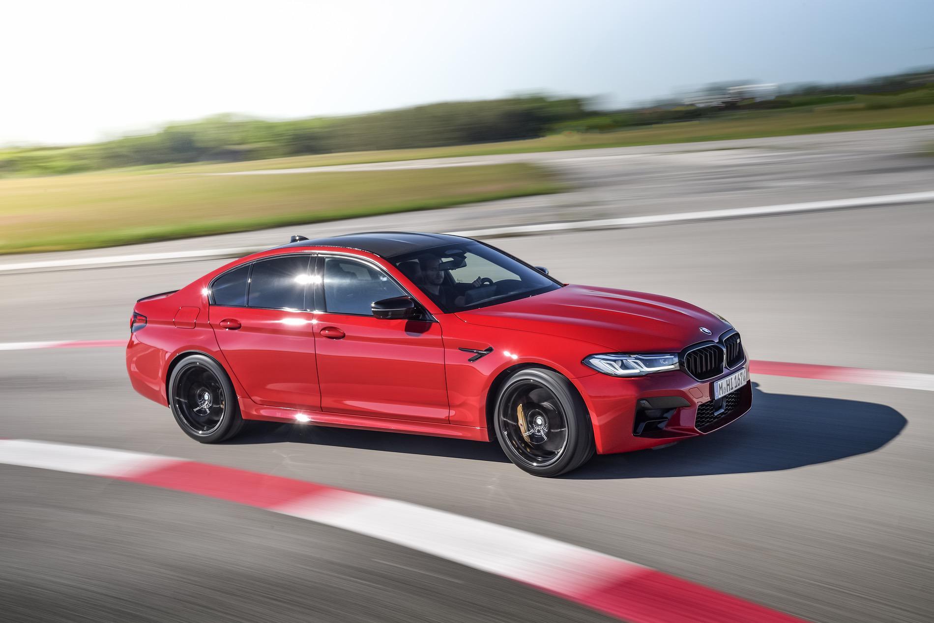 2021 BMW M5 ขุมพลังเดิม เพิ่มเติมเทคโนโลยีล้ำสมัยขึ้น