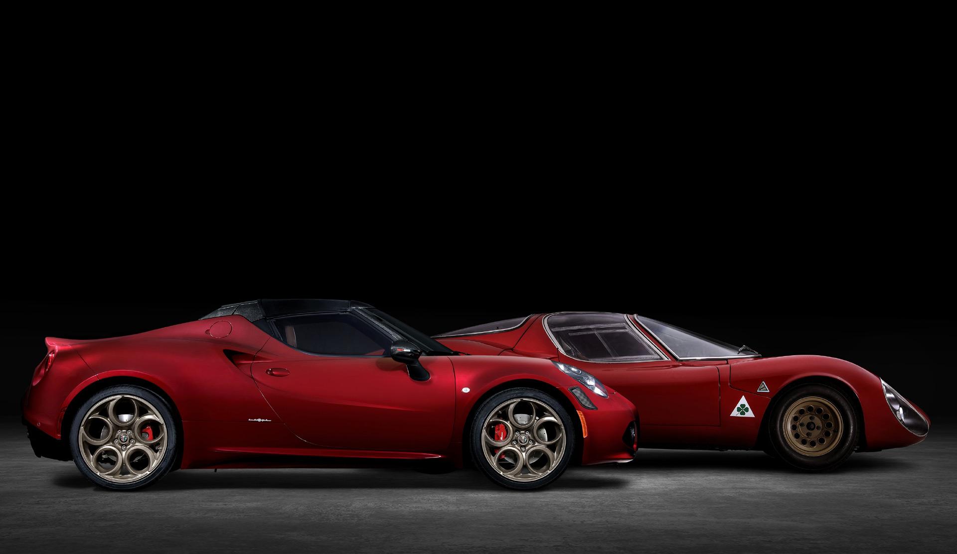 Alfa Romeo 4C Spider 33 Stradale Tributo เพียง 33 คัน ส่งท้ายสำหรับโมเดล 4C