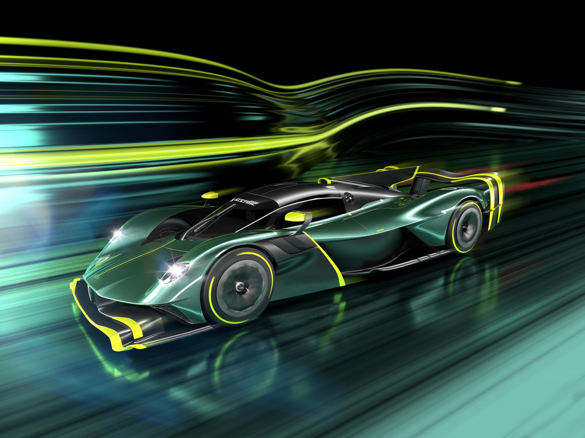 เผยโฉม!! Aston Martin Valkyrie AMR PRO ไฮเปอร์คาร์ร่างทรง F1