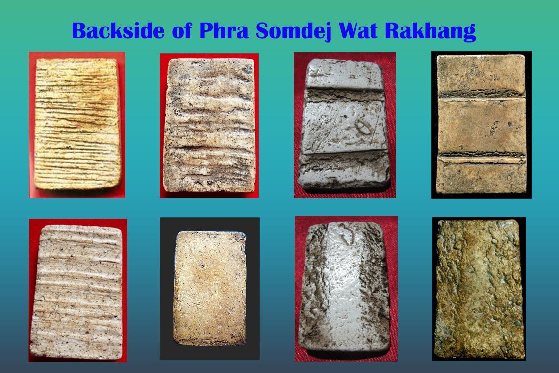 Natural Trace of Phra Somdej Wat Rakhang at Backside