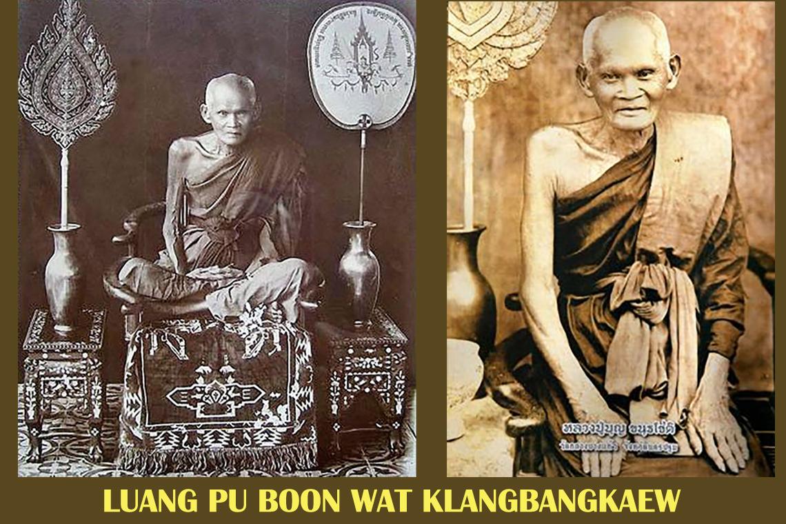 LuangPu Boon Wat Klangbangkaew