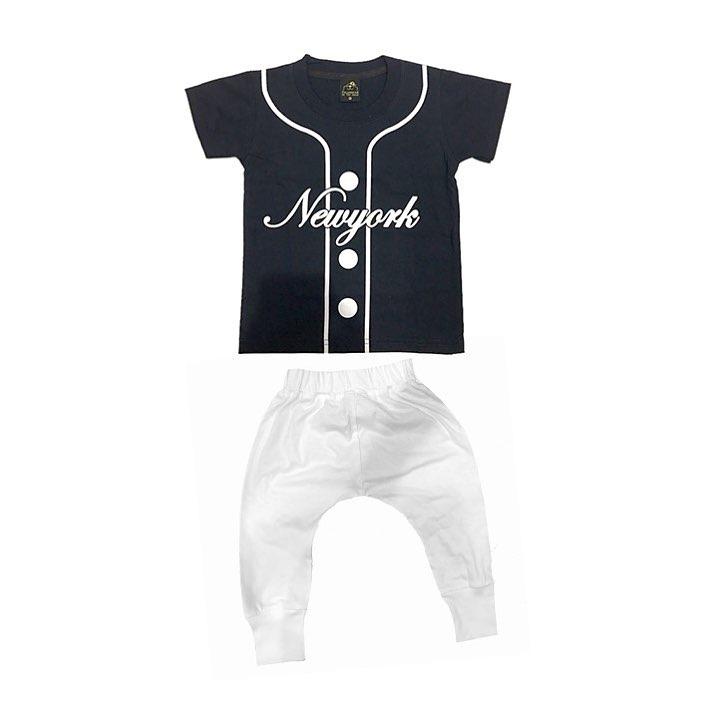 เสื้อ NEW YORK สไตล์เสื้อนักเบสบอล