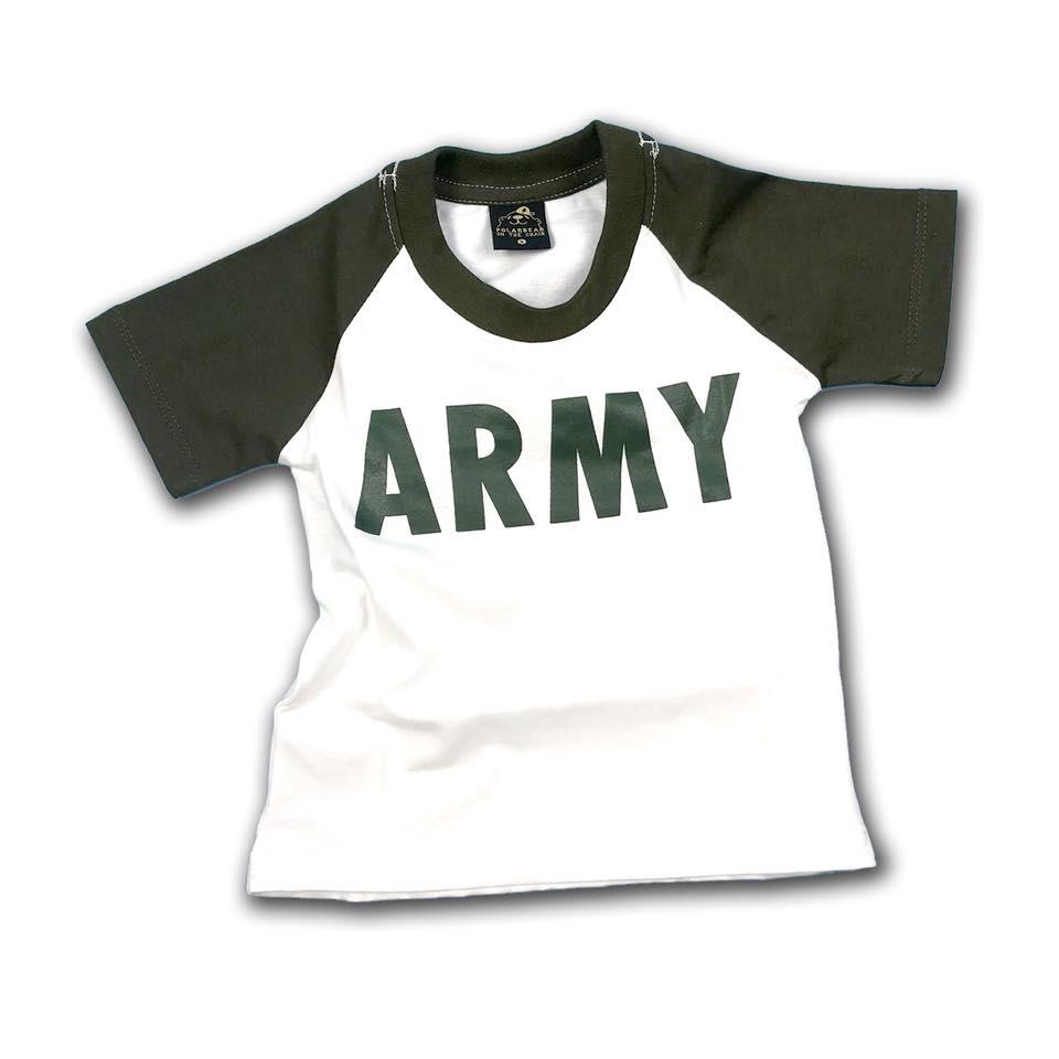 เสื้อ army ทรงเบสบอลแขนขี้ม้า