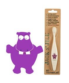 Jack N' Jill Bio Toothbrush Hippo