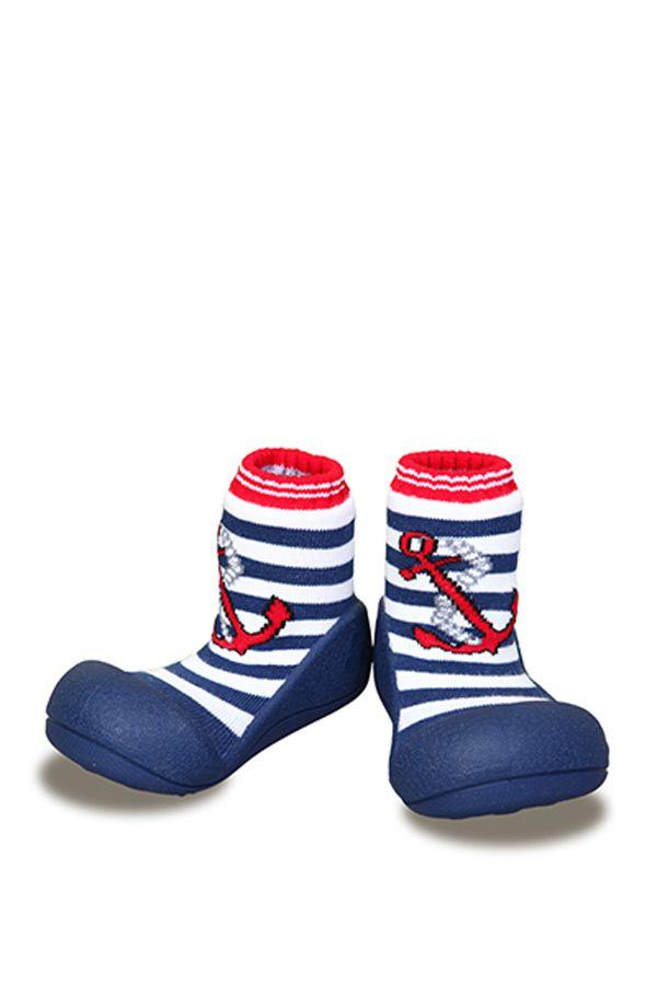 Attipas  รองเท้าหัดเดิน Marine Anchor Red