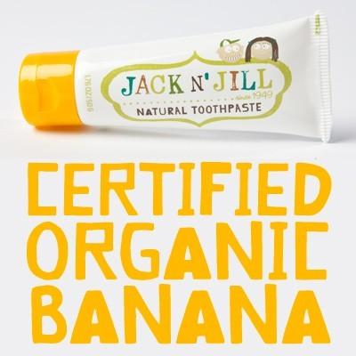 ยาสีฟัน Jack N' Jill รส กล้วย 9312657008010