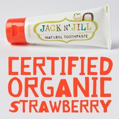 ยาสีฟัน Jack N' Jill รส สตรอเบอรี่ 9312657009017