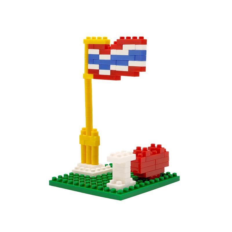 ตัวต่อธงชาติไทย