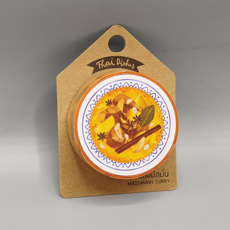 Masking Tape - Massaman Curry