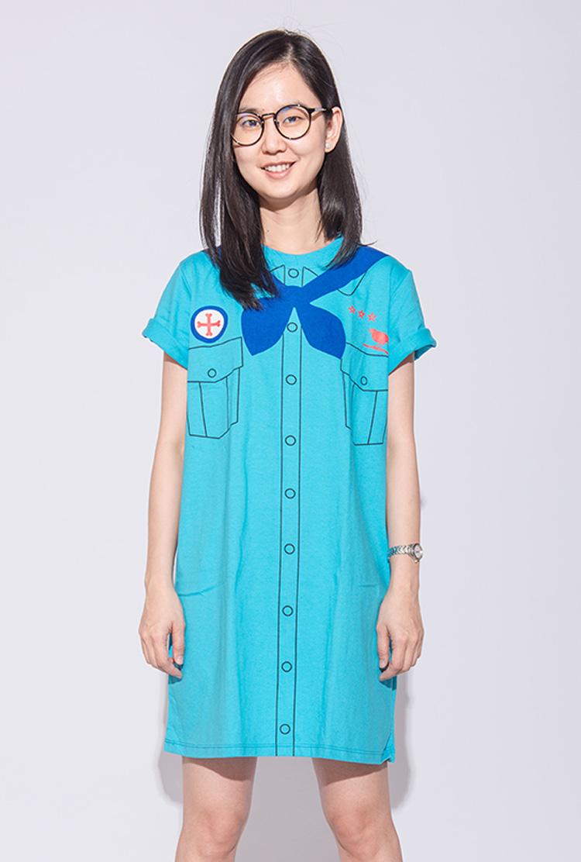 Red Cross Dress (Short Sleeves)
