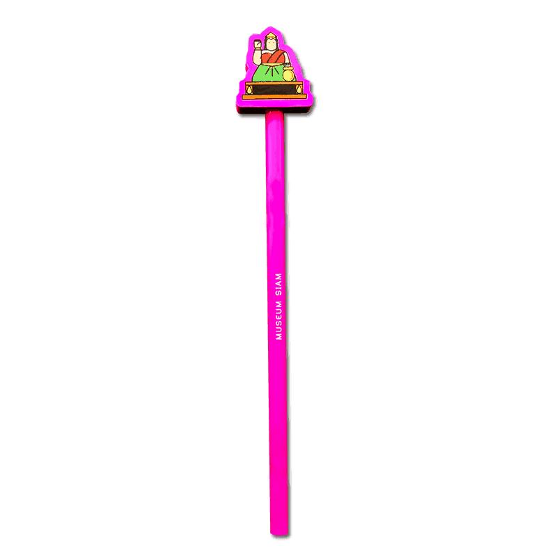 ดินสอ 2B ลายนางกวัก