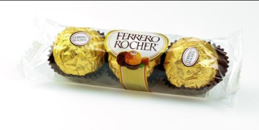 FERRERO ROCHER ขนมเฟอเรโร่