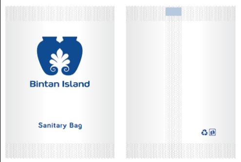 AMENITY SCREEN LOGO/HOTEL SANITARY BAG สกรีนโลโก้ซองถุงใส่ขยะ