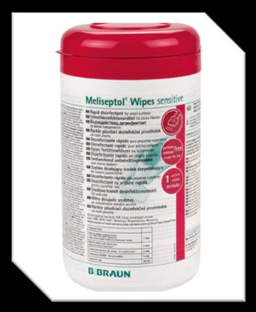 High level disinfecting paper Antibacterial / 60 pads. กระดาษเช็ด ฆ่าเชื้อระดับสูง แอนตี้แบคทีเรีย