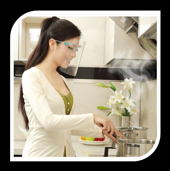 PAUL LORNA SAFETY MASK หน้ากากป้องกันขณะทำอาหาร และงานช่าง