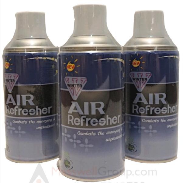 สเปรย์น้ำหอมปรับอากาศ WINTER AIR REFRESHER REFILL L 15X6.5 CM.