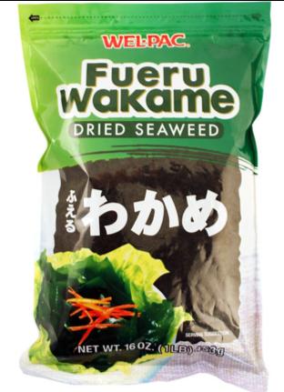 DRIED WAKAME SEAWEED สาหร่ายวากาเมะแห้ง