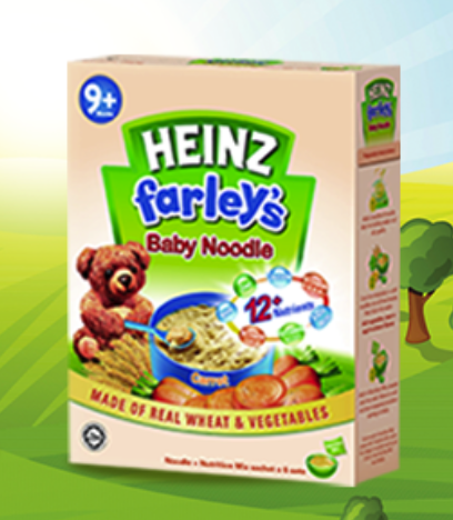 HEINZ FARLEY'S BABY NOODLE CARROT