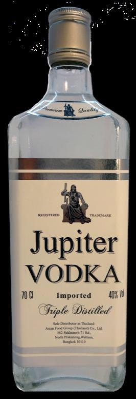 JUPITER VODKA 70 CL. วอดก้า