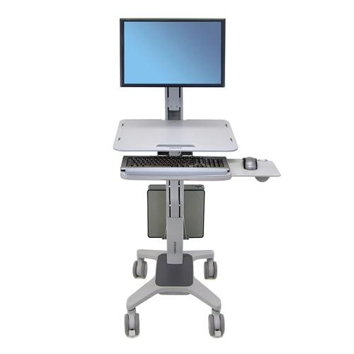 WorkFit-C, Single LD Sit-Stand Workstation