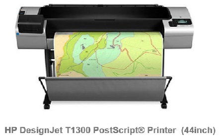 HP Designjet  T1300 44-in PS E-PRINTER