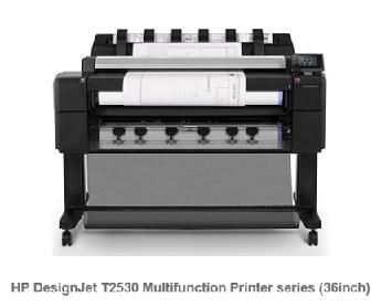 HP DesignJet T2530 36in PS MF Printer