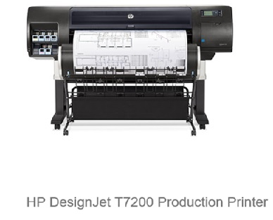 HP Designjet T7200 42-in Production Printer