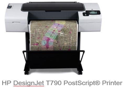 HP Designjet  T790 24-in PS E-PRINTER