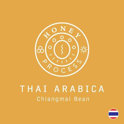 กาแฟดริป Thai Arabica - Honey Process 10g. x 5 Bags