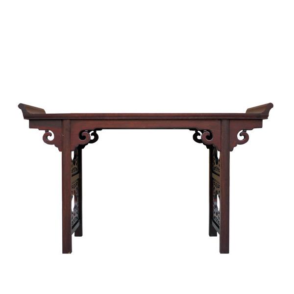 โต๊ะคอนโซลไม้ฉลุลาย 140 ซม.