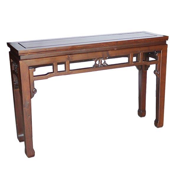 โต๊ะไหว้ไม้แกะลายเถาวัลย์แบบจีน 120 ซม.
