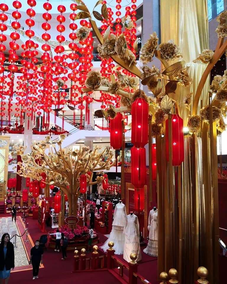 ตกแต่งห้าง-ตรุษจีน2019-มงคล-ซุ้มถ่ายรูป02