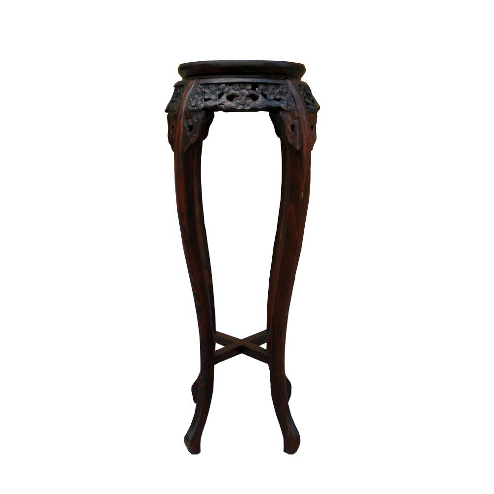 โต๊ะวางแจกันขาโค้งสูง 92 ซม.