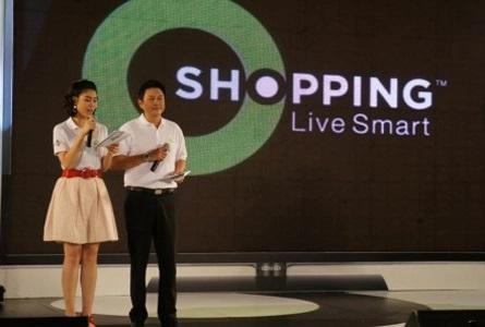 AJ ร่วมแสดงความยินดีงานเปิดตัว G-CJ O Shoping