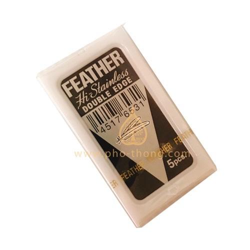 ใบมีดโกน FEATHER (Made in Japan)