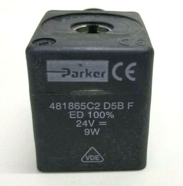 PARKER 481865C2 D5B F Coil 24VDC
