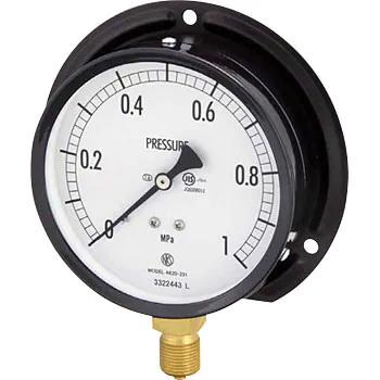 Nagano Keiki Normal pressure gauge (B frame / vertical) Φ75