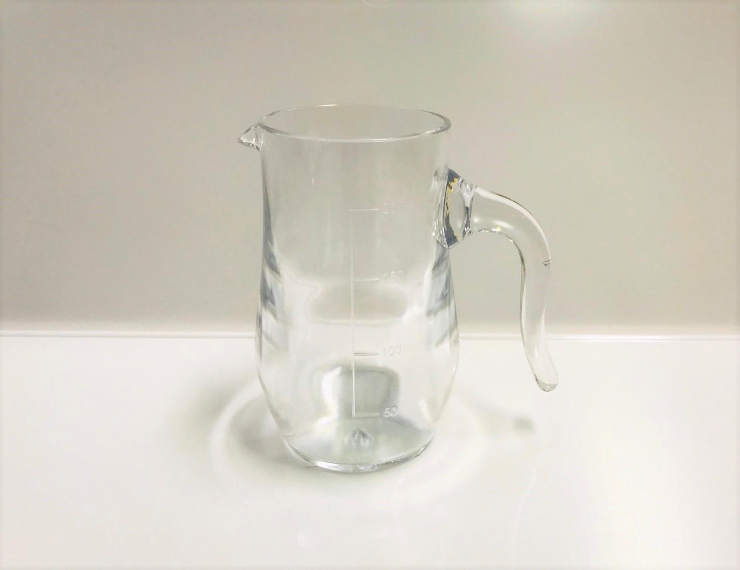 เหยือกน้ำมีหุจับ 200 ml (PC)
