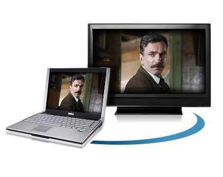 การเชื่อมต่อคอมพิวเตอร์กับจอ TV
