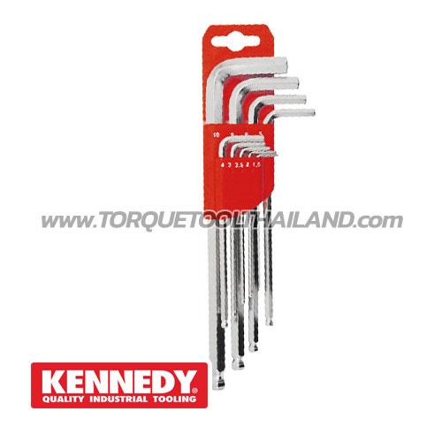 ชุดประแจหกเหลี่ยมหัวบอล  KEN-602-9940K