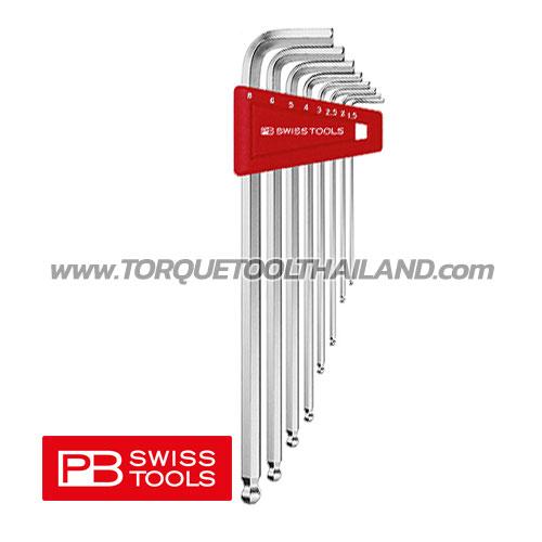 ชุดประแจหกเหลี่ยมหัวบอลยาว PB212LH - Series