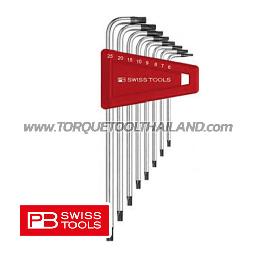 ชุดประแจหกเหลี่ยมยาว หัวท็อกซ์ PB411BH